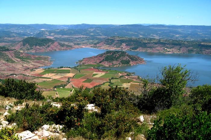 Mont Liausson, Lac Salagou - Hérault, le Languedoc © Photothèque Hérault Tourisme - S. Durand Keller