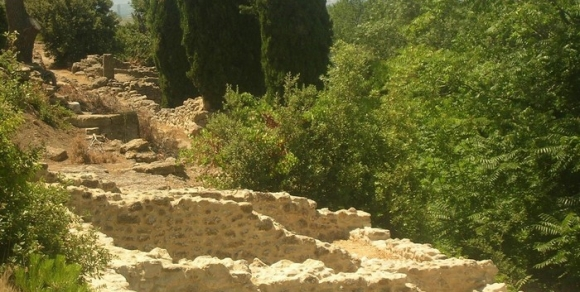 Oppidum Ensérune - Hérault, le Languedoc © Photothèque Hérault Tourisme - Julie Noclercq