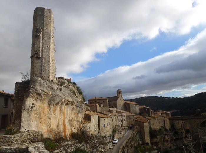 Minerve en hiver - Hérault, le Languedoc © Photothèque Hérault Tourisme - Christel Gauthier