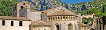 Abbaye de Gellone, Saint Guilhem le Désert - Hérault, le Languedoc © Jacques Debru